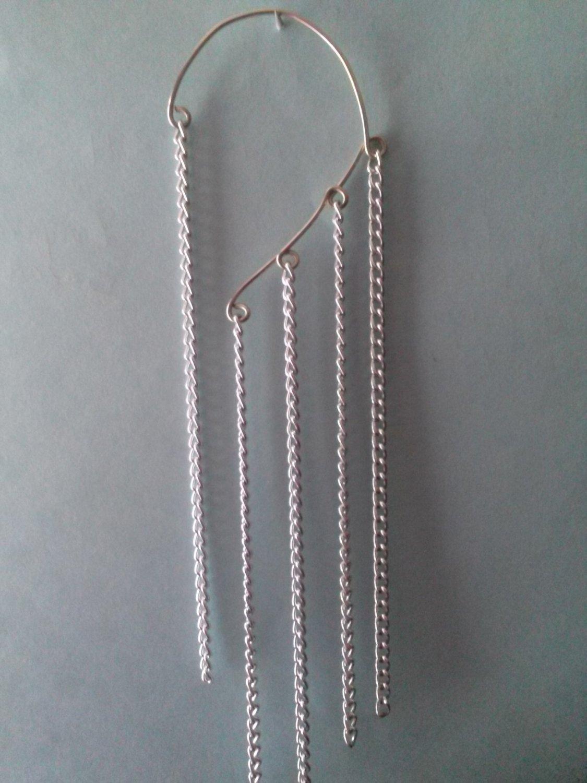 Extra Long Chain Earcuff