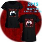 WOW MEAT LOAF TOUR 2015 BLACK TEE WOMEN S-3XL ASTR