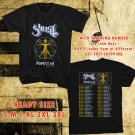 WOW GHOST BAND THE POPESTAR TOUR 2016 BLACK TEE S-3XL ASTR