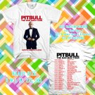 WOW PITBULL AND PRINCE ROYCE THE BADMAN TOUR 2016 WHITE TEE S-3XL ASTR