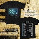 WOW OAR THE XX TOUR 2016 BLACK TEE S-3XL ASTR