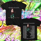 WOW MEGHAN TRAINOR THE UNTOUCHABLE TOUR 2016 BLACK TEE S-3XL ASTR