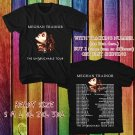 WOW MEGHAN TRAINOR THE UNTOUCHABLE TOUR 2016 BLACK TEE S-3XL ASTR111