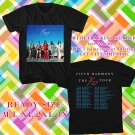 WOW FIFTH HARMONY 7/27 TOUR 2016 BLACK TEE S-3XL ASTR