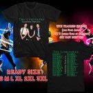 WOW THE LUMINEERS WORLD TOUR 2016 BLACK TEE S-3XL ASTR111