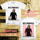 WOW RICK SPRINGFIELD SUMMER TOUR 2016 WHITE TEE S-3XL ASTR