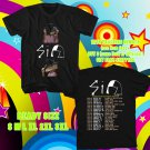 WOW SIA NOSTALGIC FOR THE PRESENT TOUR 2016 BLACK TEE S-3XL ASTR