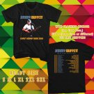 WOW JIMMY BUFFETT NEW DATE OF TOUR 2016 BLACK TEE S-3XL ASTR 443