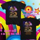 WOW YUSUF/CAT STEVENS 50 YEARS ANNIV TOUR 2016 BLACK TEE S-3XL ASTR