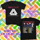 WOW BASTILLE WILD WORLD TOUR 2016 BLACK TEE S-3XL ASTR 554