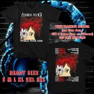 WOW AMANDA PALMER WORLD TOUR 2016 BLACK TEE S-3XL ASTR 442