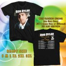 WOW BOB DYLAN UNITED STATES TOUR 2016 BLACK TEE S-3XL ASTR 442