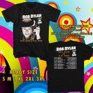 WOW BOB DYLAN UNITED STATES TOUR 2016 BLACK TEE S-3XL ASTR 447