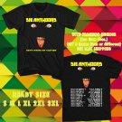 WOW DIEANTWOORD N.AMERICAN TOUR 2016 BLACK TEE S-3XL ASTR 554