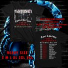 WOW GOOD CHARLOTTE YOUTH AUTHORITY TOUR 2016 BLACK TEE S-3XL ASTR