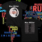 WOW MAC MILLER THE DIVINE FEMININE TOUR 2016 BLACK TEE S-3XL ASTR 465