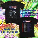 WOW SKINDRED PUMP UP THE VOLUME TOUR 2016 BLACK TEE S-3XL ASTR