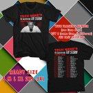 WOW TECH N9NE UNITED STATES TOUR 2016 BLACK TEE S-3XL ASTR 443