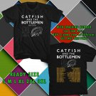 WOW CATFISH AND THE BOTTLEMEN N.AMERICAN TOUR 2016 BLACK TEE S-3XL ASTR