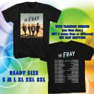 WOW THE FRAY N.AMERICAN TOUR 2016 BLACK TEE S-3XL ASTR