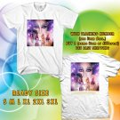 WOW CLASSIC CHER UNITED STATES TOUR 2017 WHITE TEE S-3XL ASTR