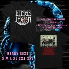 WOW NEW ALBUM WALLS FROM KING OF LEON TOUR 2017 BLACK TEE S-3XL ASTR