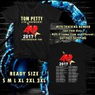 WOW TOM PETTY TOUR 2017 BLACK TEE S-3XL ASTR