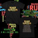 WOW BLAKE SHELTON TOUR 2017 BLACK TEE S-3XL ASTR
