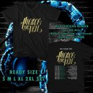 NEW PIERCE THE VEIL REST IN SPACE TOUR 2017 BLACK TEE W DATES DMTR 110