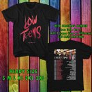 NEW EVERY TIME I DIE LOW TEENS TOUR 2017 BLACK TEE W DATES DMTR