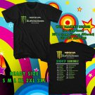 NEW AMA SUPERCROSS TOUR 2017 BLACK TEE W DATES DMTR