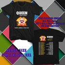 WOW QUEEN AND ADAM LAMBERT TOGETHER TOUR 2017 BLACK TEE S-3XL ASTR