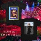 WOW LADY GAGA JOANNE TOUR 2017 BLACK TEE S-3XL ASTR 665