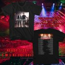 WOW 2CELLOS THE SCORE WORLD TOUR 2017 BLACK TEE S-3XL ASTR 752