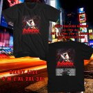 WOW BONDOX THE MURDER TOUR 2017 BLACK TEE S-3XL ASTR