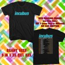 WOW INCUBUS AND JIMMY EAT WORLD TOUR 2017 BLACK TEE S-3XL ASTR 498