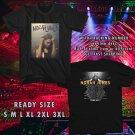 WOW NORAH JONES N.AMERICA TOUR 2017 BLACK TEE S-3XL ASTR 665