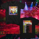 WOW CHRIS BROWN THE PARTY USA TOUR 2017 BLACK TEE S-3XL ASTR