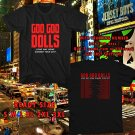 WOW GOO GOO DOLLS LONG WAY HOME TOUR 2017 BLACK TEE S-3XL ASTR