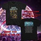 WOW AMON AMARTH JOMSVIKING TOUR US 2017 BLACK TEE S-3XL ASTR