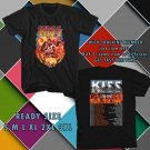WOW KISS WORLD LIVE 2017 BLACK TEE S-3XL ASTR