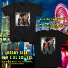 NEW CLEAN BANDIT N.AMERICA TOUR 2017 black TEE W DATES DMTR