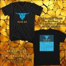 NEW BLUE OX FESTIVAL 2017 black TEE 2 SIDE DMTR