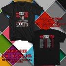 NEW TECH N9NE STRICTLY STRANGE USA TOUR 2017 black TEE 2 SIDE DMTR