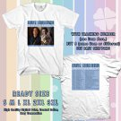 NEW KENNY G AND GEORGE BENSON TOUR 2017 WHITE TEE W DATES DMTR 554