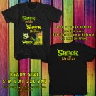 NEW SHREK THE MUSICAL TOUR 2017 BLACK TEE 2 SIDE DMTR 221