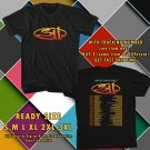 NEW 311 AND NEW POLITICS UNITY TOUR 2017 BLACK TEE W DATES DMTR 332