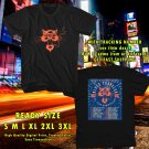 NEW BLUES TRAVELLER FOR 30 ANNIVERSARY TOUR 2017 BLACK TEE W DATES DMTR 543