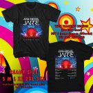HITS JEAN-MICHEL JARRE ELECTRONICA WORLD TOUR 2017 BLACK TEE'S 2SIDE MAN WOMEN ASTR