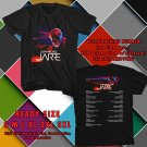 HITS JEAN-MICHEL JARRE ELECTRONICA WORLD TOUR 2017 BLACK TEE'S 2SIDE MAN WOMEN ASTR 332